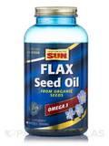 Organic Flax Seed 180 Softgels