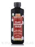 Organic Flax Lignan Gold - 16 fl. oz (473 ml)