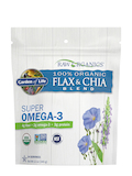 RAW Organics Flax & Chia Seed Blend - 12 oz (340 Grams)