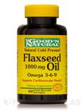 Flaxseed Oil (Linseed) 1000 mg - 60 Softgels