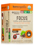 Focus Coffee with Superfoods - 12 Single-serve Cups (4.61 oz / 130.8 Grams)