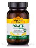 Organic Folate 800 mcg (Orange Flavor) - 100 Chewable Wafers