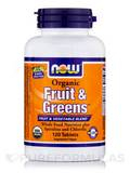 Organic Fruit & Greens™ - 120 Tablets