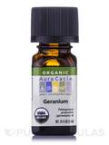 Organic Geranium Essential Oil - 0.25 fl. oz (7.4 ml)