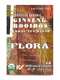 Organic Ginseng Rooibos Herbal Tea Blend - 16 Tea Bags