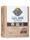 Organic GoL Bar, Chocolate Coconut - Box of 12 Bars