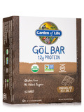 Organic GoL Bar, Chocolate Sea Salt - Box of 12 Bars