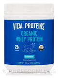 Organic Grass-Fed Whey Protein, Pure & Unflavored - 18 oz (512 Grams)