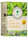 Organic Green Tea Dandelion - 16 Tea Bags