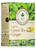 Organic Green Tea with Ginger - 16 Tea Bags