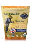 Organic Ground Flax Seeds - 14 oz (397 Grams)