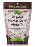 NOW Real Food® - Organic Hemp Seed Hearts - 8 oz (227 Grams)
