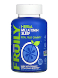 Organic Herbal Melatonin Sleep - Apple, Peach & Mango Flavor - 50 Gummies
