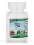 Organic Iron 15 mg - 90 Capsules