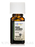 Organic Lavender Essential Oil - 0.25 fl. oz (7.4 ml)