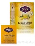 Lemon Ginger Tea - 16 Tea Bags
