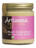 Organic Mac-Coconut Nut Butter Blend - 8 oz (227 Grams)