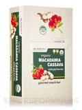 Organic Macadamia Cassava Bars with Goji Berries - Box of 12 Bars (1.55 oz / 44 Grams each)