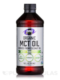 NOW® Sports - Organic MCT Oil - 16 fl. oz (473 ml)