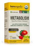 Organic Metabolism Superfood Water Enhancer, Lemon Flavor - 5 Stick Packets (1.15 oz / 32.5 Grams)