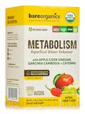Organic Metabolism Superfood Water Enhancer, Lemon Flavor - 12 Stick Packets (2.75 oz / 78 Grams)