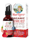 Organic Methyl B12 Liquid Spray, Berry Flavor - 1 fl. oz (30 ml)