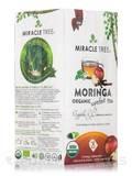 Organic Moringa Superfood Tea, Apple & Cinnamon - 25 Tea Bags (1.32 oz / 37.5 Grams)