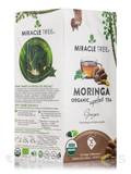 Organic Moringa Superfood Tea, Ginger - 25 Tea Bags (1.32 oz / 37.5 Grams)