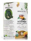 Organic Moringa Superfood Tea, Honey & Vanilla - 25 Tea Bags (1.32 oz / 37.5 Grams)