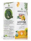 Organic Moringa Superfood Tea, Lemon - 25 Tea Bags (1.32 oz / 37.5 Grams)