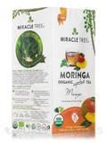 Organic Moringa Superfood Tea, Mango - 25 Tea Bags (1.32 oz / 37.5 Grams)