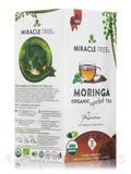 Organic Moringa Superfood Tea, Rooibos - 25 Tea Bags (1.32 oz / 37.5 Grams)