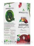 Organic Moringa Superfood Tea, Strawberry - 25 Tea Bags (1.32 oz / 37.5 Grams)