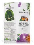 Organic Moringa Superfood Tea, Tumeric - 25 Tea Bags (1.32 oz / 37.5 Grams)