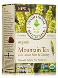 Organic Mountain Tea with Lemon Balm and Caraway - 16 Tea Bags