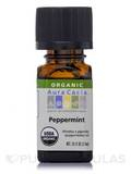 Organic Peppermint Essential Oil - 0.25 fl. oz (7.4 ml)