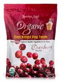 Organic Oven Baked Dog Treats, Cranberry Flavor - 14 oz (397 Grams)