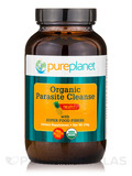 Organic Parasite Cleanse with Super Food Fibers, Pineapple Flavor - 174 Grams