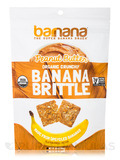 Organic Peanut Butter Banana Brittle - 3.5 oz (100 Grams)