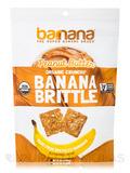 Organic Peanut Butter Banana Brittle - 3.5 oz (100 Grams)