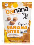 Organic Peanut Butter Chewy Banana Bites - 3.5 oz (100 Grams)
