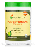 Organic Perfect Greens Formula, Delicious Apple Flavor - 10.58 oz (300 Grams)