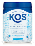 Organic Plant Protein, Blueberry Muffin Flavor - 13.75 oz (390 Grams)