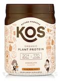 Organic Plant Protein, Chocolate Flavor - 13.75 oz (390 Grams)