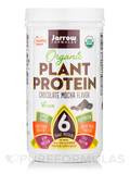 Organic Plant Protein Powder, Chocolate Mocha Flavor - 16 oz (450 Grams)