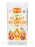 Organic Plant Protein Powder, Salted Caramel Flavor - 16 oz (450 Grams)