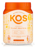 Organic Plant Protein, Salted Caramel Coffee Flavor - 19.6 oz (555 Grams)