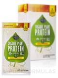 Organic Plant Protein - Smooth Energy - Box of 5 Packets (1 oz / 24 Grams each)