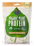 Organic Plant Protein - Smooth Unflavored - 8.0 oz (226 Grams)