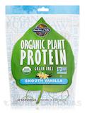 Organic Plant Protein - Smooth Vanilla Powder 9 oz (260 Grams)